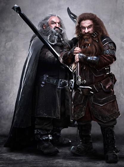 Gloin is Gimli's father