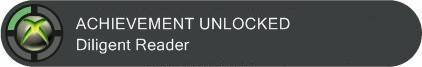 Achievement - Diligent Reader